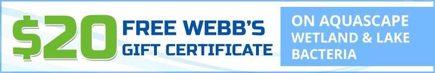 Wetland & Lake Bacteria free gift certificate