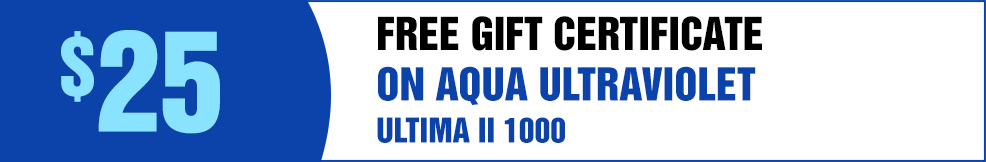 Aqua UV free GC ultima II 1000 2000