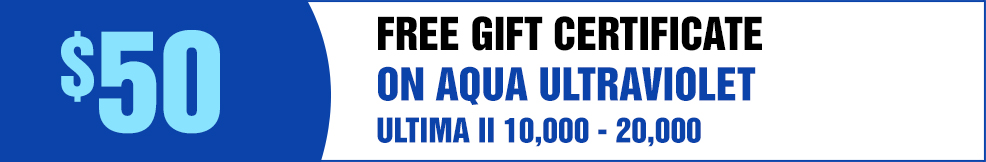 Aqua UV free GC ultima II 10000 20000
