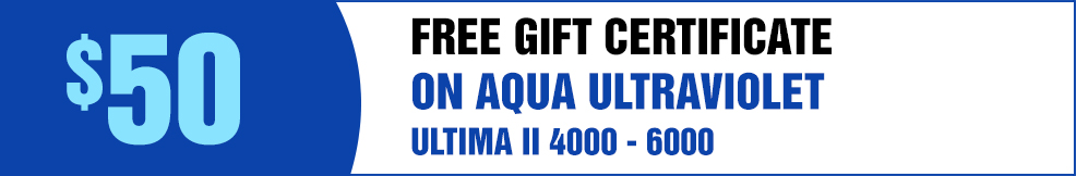 Aqua UV free GC ultima II 4000 6000