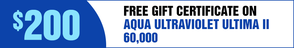 Aqua UV free GC ultima II 60000