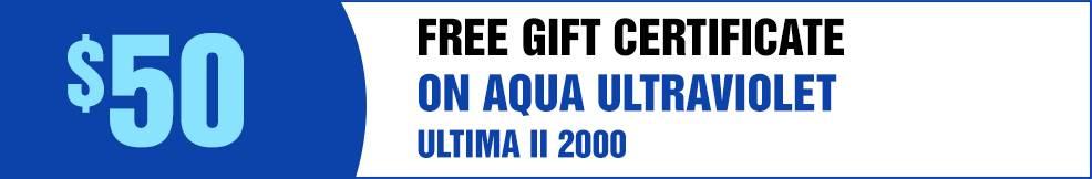 Aqua UV free GC ultima II 1000 2000