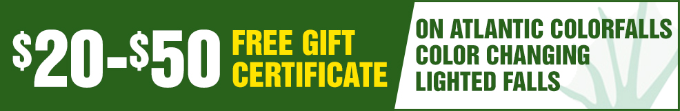 Atlantic Colorfalls atlantic free Gift Certificate