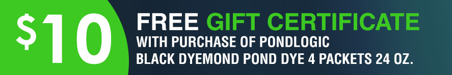 Black DyeMond Pond Dye 4 Packets 24oz gift certificate