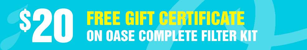 Complete Filter Kit 20 free gift certificate