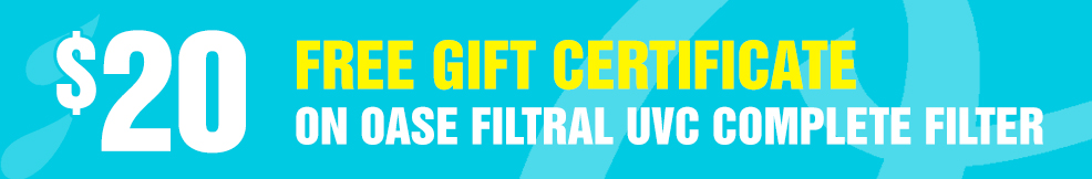 Filtral UVC Complete Filter free gift certificate