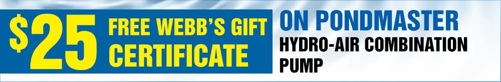 Hydro Air Combination Pump Free 25 Gift Certificate