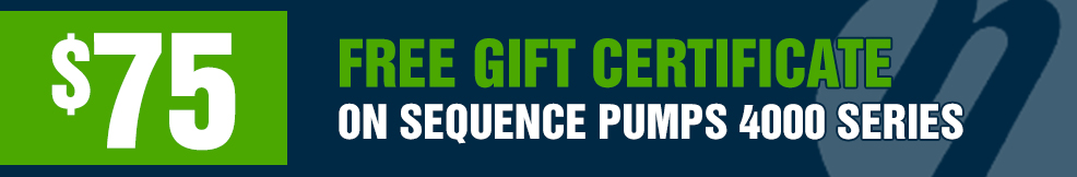 Sequence 4000 Series free 75 gift certificate