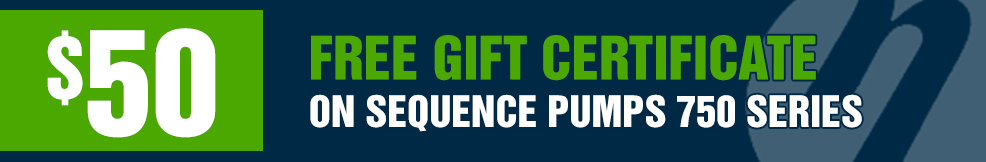 Sequence 750 Series free 50 gift certificate