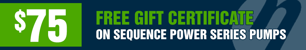 Sequence Power Series Pumps 75 gift certificate