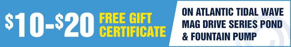 magdrive pump atlantic free Gift Certificate