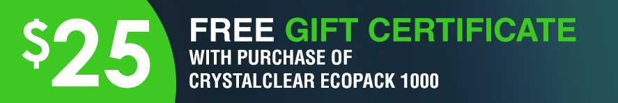 airmax CrystalClear EcoPack 1000 Free 15 gift certificate