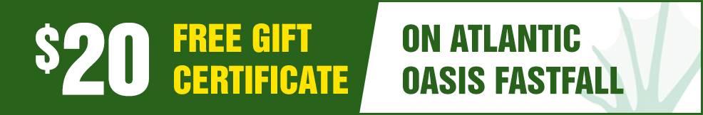 atlantic Oasis FastFall free Gift Certificate